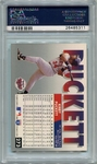 Kirby Puckett PSA/DNA Certified Authentic Autograph - 1993 Fleer