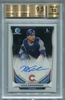 Kyle Schwarber Rookie BGS Certified Authentic Autograph - 2014 Bowman Chrome Draft