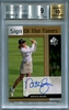 Natalie Gulbis BGS Certified Authentic Autograph - 2012 Upper Deck SP Authentic