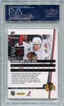 Patrick Kane PSA/DNA Certified Authentic Autograph - 2010 Donruss