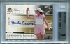 Paula Creamer Rookie BGS Certified Authentic Autograph - 2005 U.D. SP Authentic