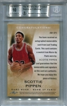 Scottie Pippen BGS Certified Authentic Autograph - 2014 Leaf Q Memorabilia