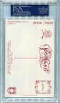 Stan Musial PSA/DNA Certified Authentic Autograph - 1981 Perez-Steele Postcard