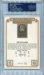 Ted Williams PSA/DNA Certified Authentic Autograph - 1984 Donruss Grand Champion