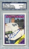 Tommy Lasorda PSA/DNA Certified Authentic Autograph - 1988 Topps
