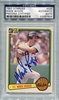 Wade Boggs Rookie PSA/DNA Certified Authentic Autograph - 1983 Donruss