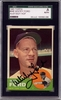 Whitey Ford SGC Certified Authentic Autograph - 1963 Topps