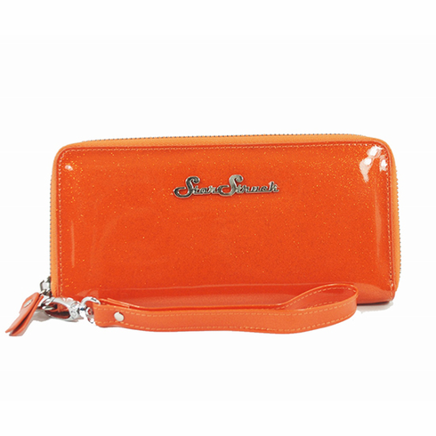 Glitter Wristlet - Orange Crush