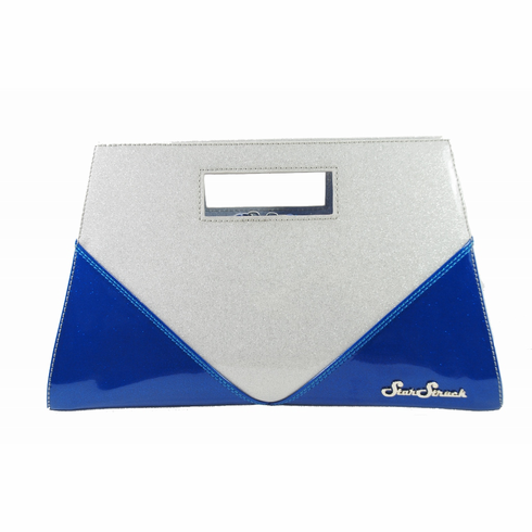 Vixen Clutch-Royal Blue\Silver