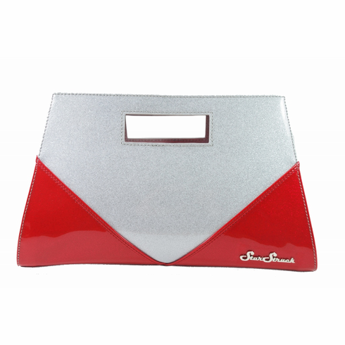 Vixen Clutch-Ruby Red\Silver