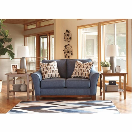 Benchcraft Janley Denim Loveseat 4380735