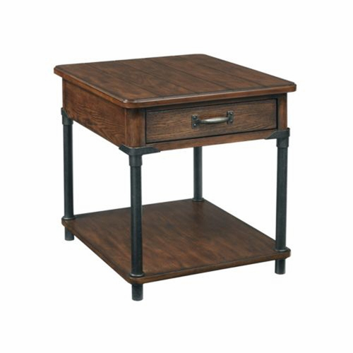 Saluda™ Drawer End Table (Kd)