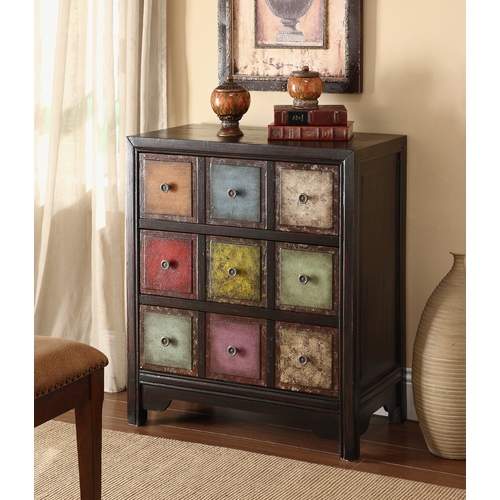 Coast To Coast Imports Three Drawer Chest In Conde