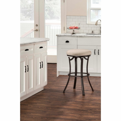 backless swivel counter stools. Hillsdale - Indoor / Outdoor Bryce Backless Swivel Counter Stool 6301-830 Stools
