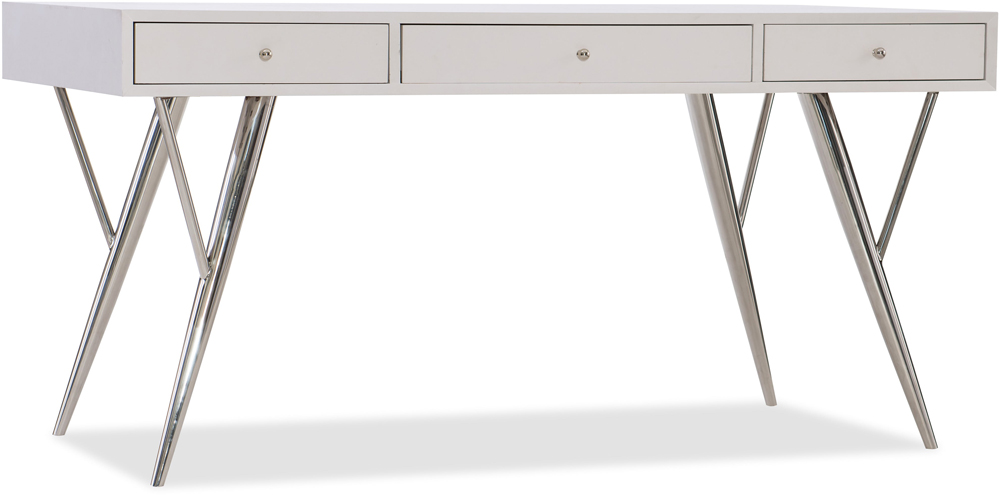 Hooker Furniture   Sophisticated Contemporary Writing Desk 60in    5622 10460 WH