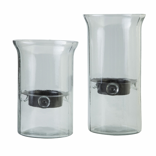 Signature Design by Ashley - Kadeem - Clear Candle Holder (Set of 2) - A2000175C - Quickship