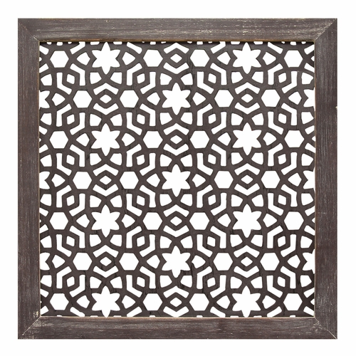 Stratton Home Decor - Framed Laser-Cut Wall Decor (1pc) - S01938