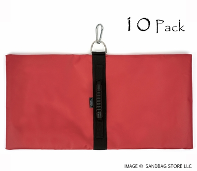Anchor Sandbag Red 10 pk.