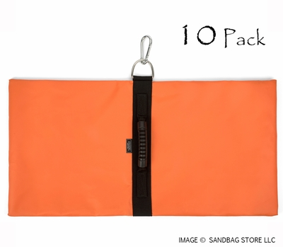 Anchor Sandbags™ Orange 10 pk.