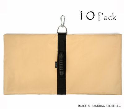 Anchor Sandbags™ Tan 10 pk.