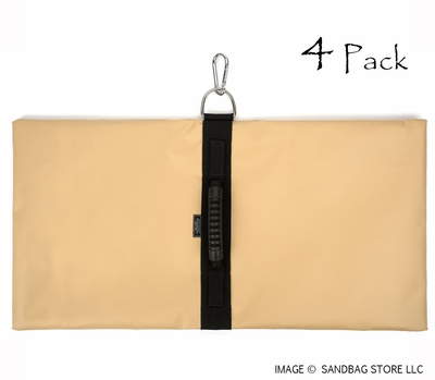Anchor Sandbags™ Tan 4 pk.