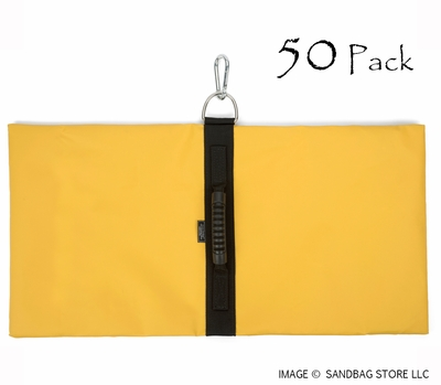 Anchor Sandbags™ Yellow 50 pk.