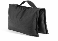 Black Saddle Sandbags