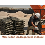 High Production Sandbag Filling Machine | Burcham Bagger Pro