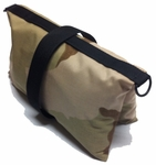 Empty Butterfly / Fly Away Sandbag Heavy Duty 25lb Desert Camo 10 pk.