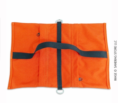 Empty Butterfly / Fly Away Sandbag Heavy Duty 25lb Orange