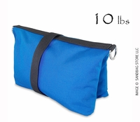 Filled Butterfly/Fly Away Sandbag Heavy Duty 10lb Blue