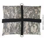 Filled Butterfly/Fly Away Sandbag Heavy Duty 20lb ACU Camo