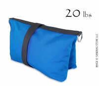 Filled Butterfly/Fly Away Sandbag Heavy Duty 20lb Blue