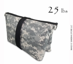 Filled Butterfly/Fly Away Sandbag Heavy Duty 25lb ACU Camo