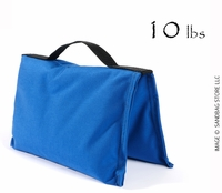 Filled Heavy Duty Saddle Sandbag 10lb Blue