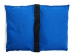 Filled Heavy Duty Saddle Sandbag 15lb Blue