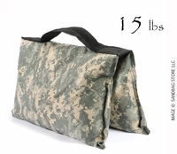 Filled Heavy Duty Saddle Sandbag 15lb Digital Camo