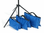 Filled Heavy Duty Saddle Sandbag 25lb Blue