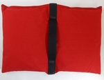 Filled Heavy Duty Saddle Sandbag 30lb Red