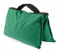 Green Saddle Sandbags
