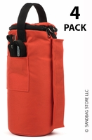 Canopy Sandbags™ Orange 4 Pack