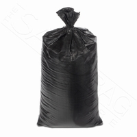 Poly Sandbag, Heavy Duty Black 100 pk.