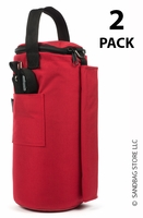 Canopy Sandbags™ Red 2 Pack