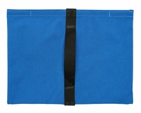 Heavy Duty Saddle Sandbag Empty 20lb Capacity Blue