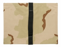 Heavy Duty Saddle Sandbag Empty 20lb Capacity Desert Camo
