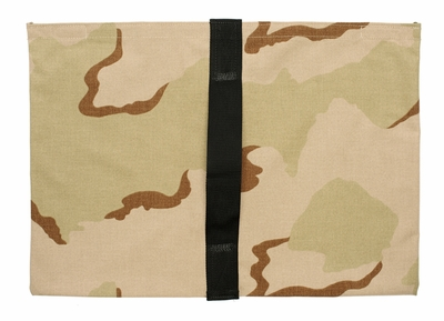 Heavy Duty Saddle Sandbag Empty 35lb Capacity Desert Camo