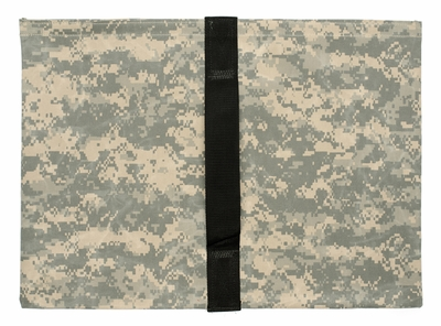 Heavy Duty Saddle Sandbag Empty 35lb Capacity Digital Camo