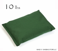 Heavy Duty Shot Bag 10lb Green
