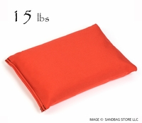 Heavy Duty Shot Bag 15lb Orange