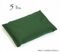 Heavy Duty Shot Bag 5lb Green